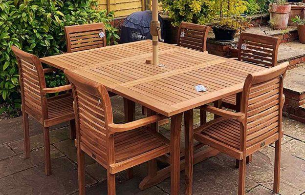 How to clean teak garden furniture