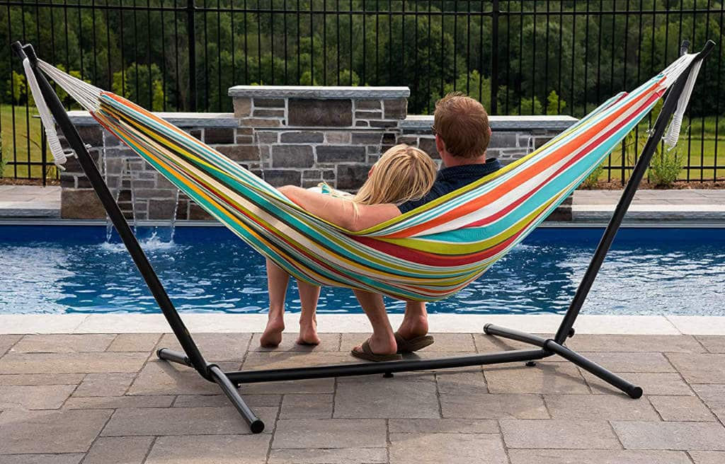 How to hang a hammock in your garden